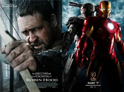 'Robin Hood' and 'Iron Man 2'