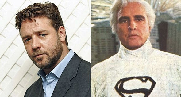 ... was a role filled by Marlon Brando in the original Superman: The Movie.