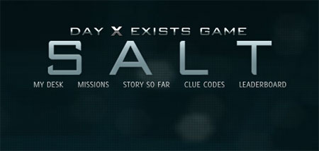 'Salt' Day X Exists Game