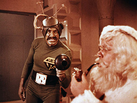 Santa Conquers the Martians