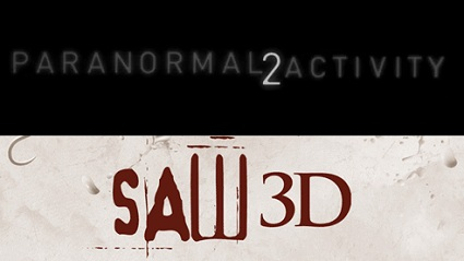 'Paranormal Activity 2' vs. 'Saw 3D'