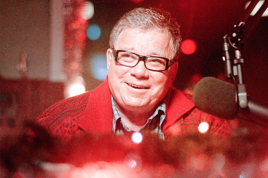 A Christmas Horror Story.Interview William Shatner On A Christmas Horror Story And