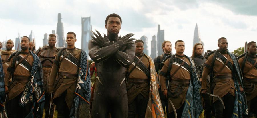 Avengers: Infinity War T'Challa Black Panther Chadwick Boseman