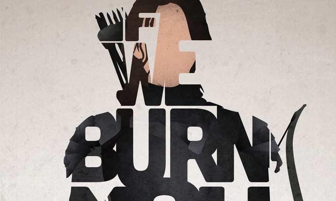 katniss original poster art