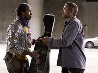 Jamie Foxx and Robert Downey in The Soloist