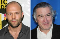 Jason Statham and Robert de Niro