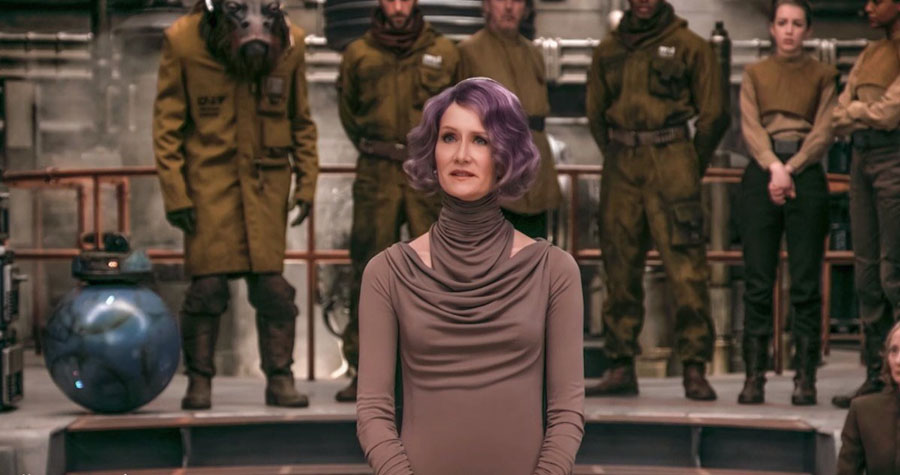 Star Wars: The Last Jedi Laura Dern Admiral Amilyn Holdo