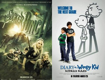 You Rate Diary Of A Wimpy Kid 2 And Sucker Punch Fandango