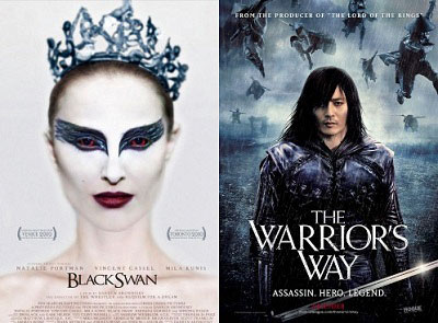 Black Swan and The Warrior's Way