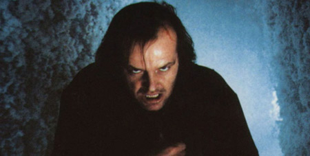 Jack Nicholson in 'The Shining'