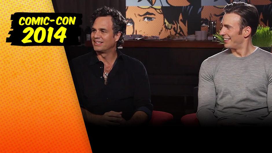 Chris Evans and Mark Ruffalo