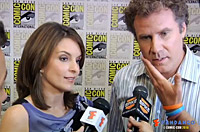 Tina Fey and Will Ferrell