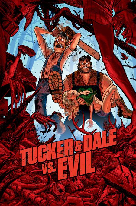 'Tucker & Dale vs Evil' comic poster