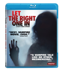 'Let The Right One In' on blu-ray