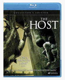 'The Host' on blu-ray