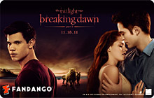 Breaking Dawn Fandango Gift Card
