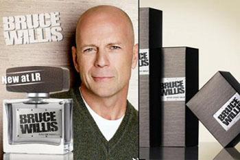Bruce Willis's cologne
