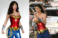 New Wonder Woman costume