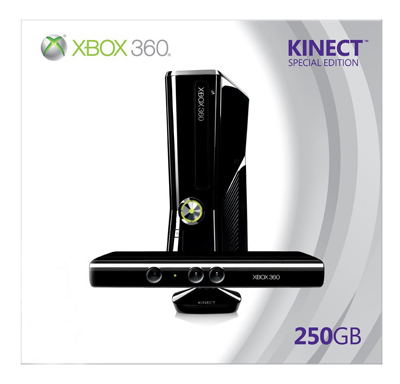 Xbox 360 with Kinect!