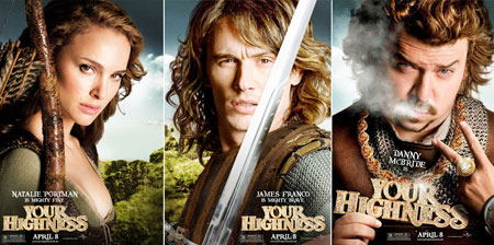 New Posters For Pirates 4 Super And Your Highness Fandango