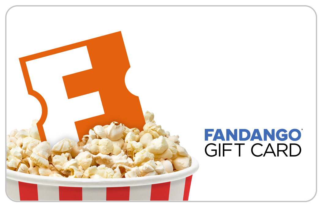 fandango gift cards - movie gift cards