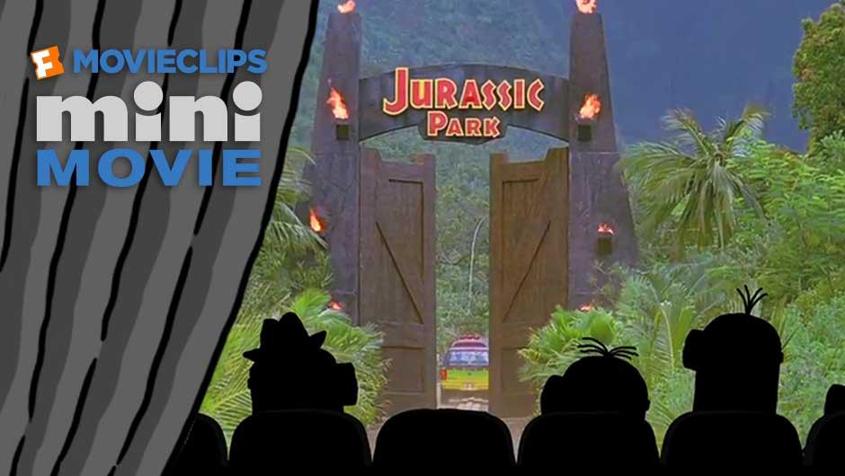 minions mini movie jurassic park
