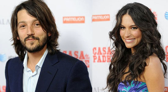 lunarodriguez Cine Latino: Casa de Mi Padre Stars Diego Luna and Genesis Rodriguez on Will Ferrell and Being as American as a Cheeseburger (Exclusive)