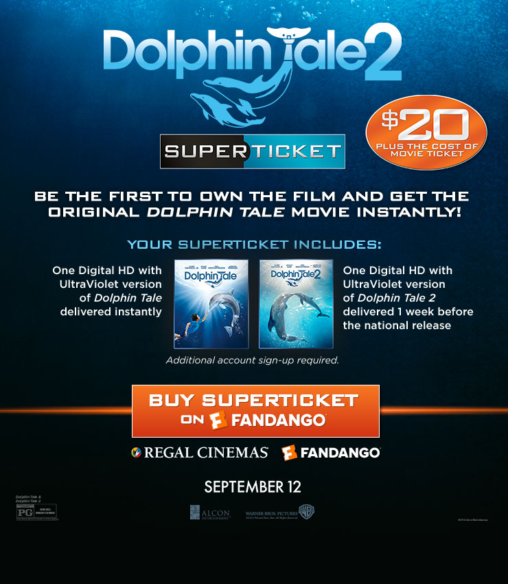 Dolphin Tale 2 Tickets