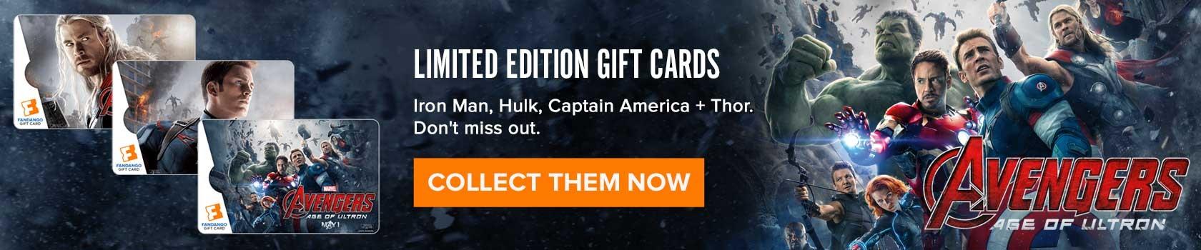 avengers gift cards