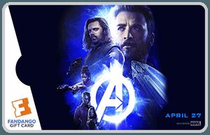 Infinity War Gift Card