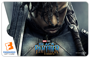 Black Panther Killmonger Gift Card