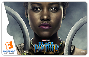 Black Panther Nakia Movie Gift Card
