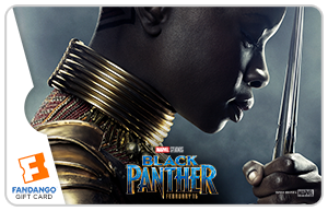 Black Panther Okoye Movie Gift Card
