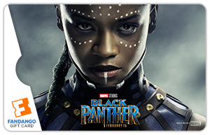 Black Panther Shuri Movie Gift Card