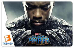 Black Panther TChalla Gift Card