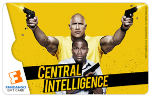 Central Intelligence Gift Card
