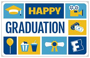Fandango Graduation Card
