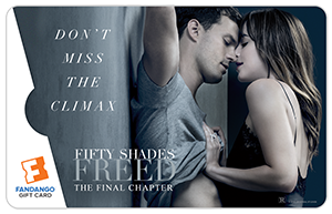 Fifty Shades Freed Gift Card