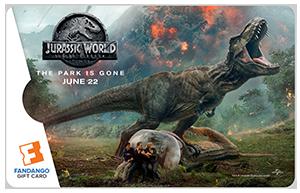 Jurassic T-Rex Card