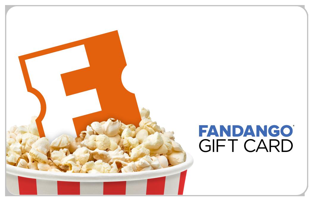 Fandango Popcorn Bucket Gift Card