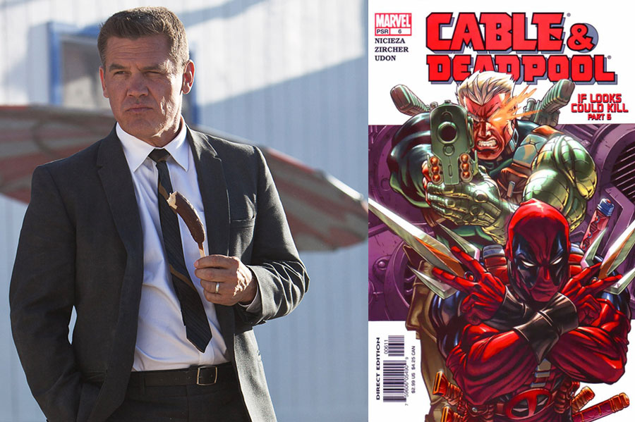 News Briefs: See Josh Brolin Tease His Role in 'Deadpool 2'