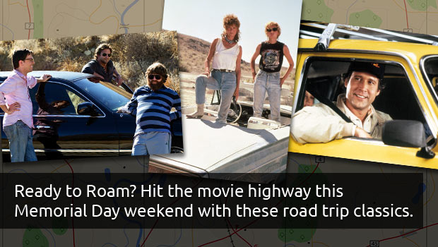 Memorial Day Weekend - Road Trip Movie Classics