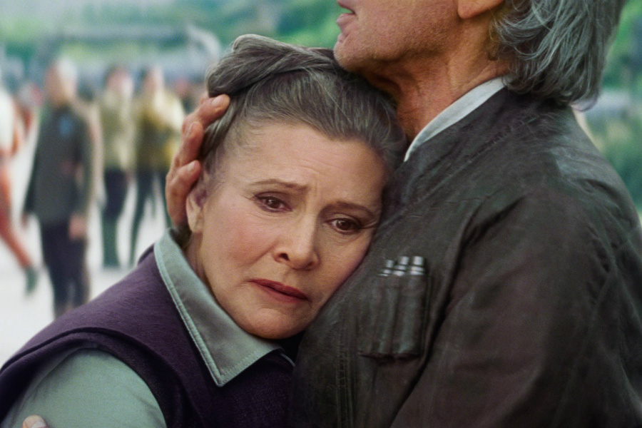 Carrie Fisher Will Not, in Fact, Appear in 'Star Wars: Episode IX'