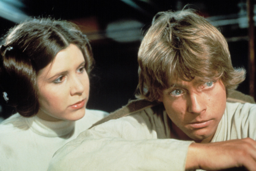 Luke and Leia May Be Together Again in 'Star Wars'