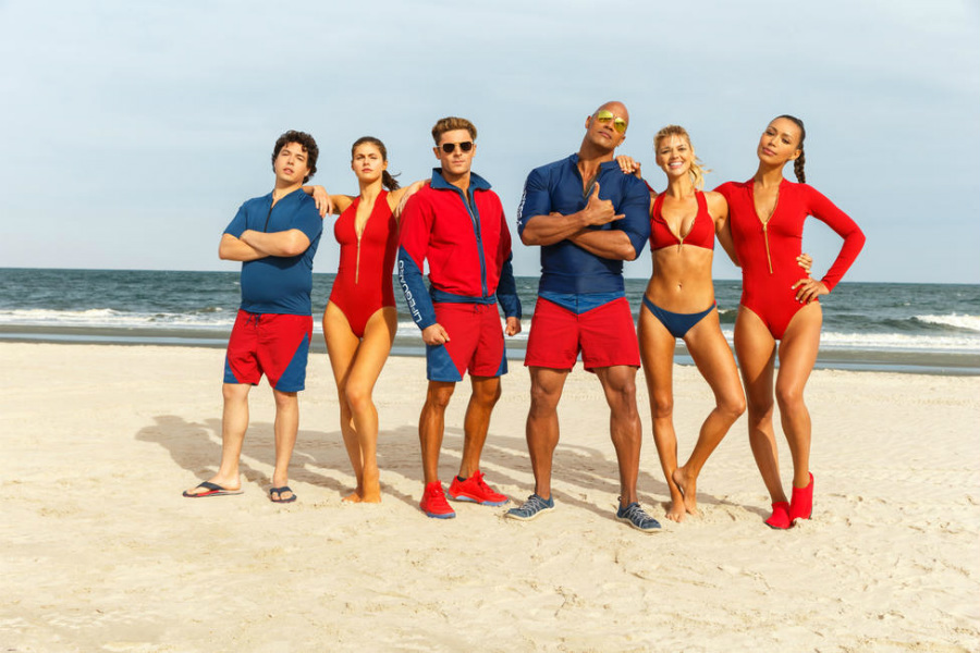 Watch: The Rock and Zac Efron Go Deep Undercover in New 'Baywatch' Trailer