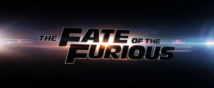 The Fate of the Furious title