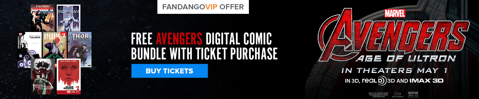 Avengers: Age of Ultron Free Gift With Purchase