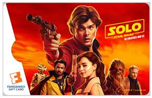 Solo Star Wars Card