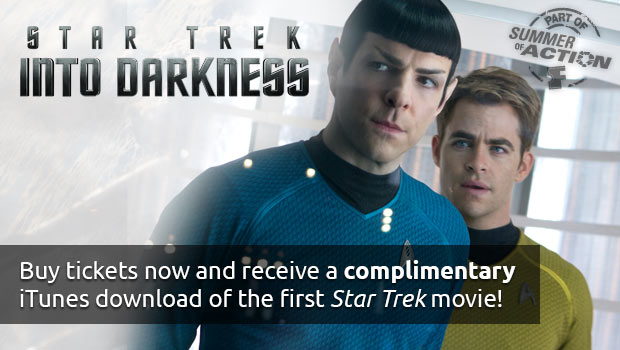 Star Trek Tickets and iTunes Movie Download