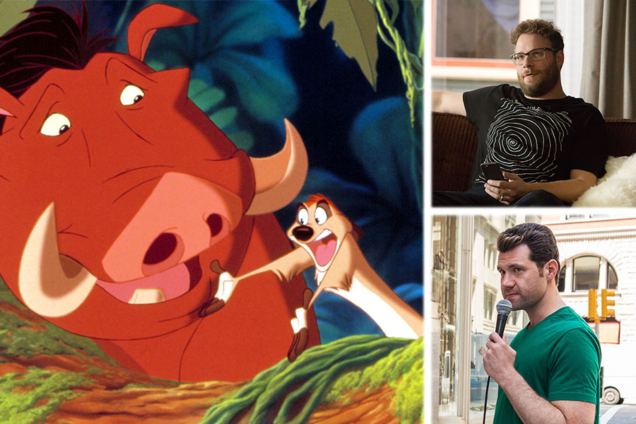 'The Lion King' Wants Seth Rogen and Billy Eichner For Timon and Pumbaa